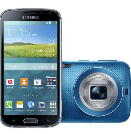 Samsung lancerer den nye Galaxy K zoom, en smartphone med et kamera udover det sædvanlige