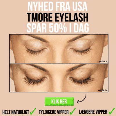Få smarte fyldige øjenvipper med Tmore Eyelash Serum