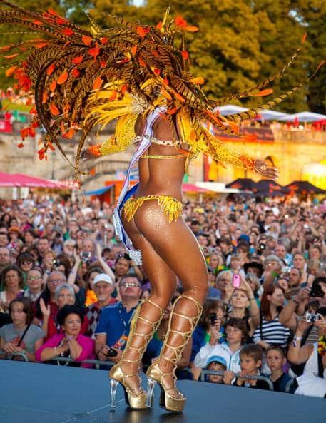 5 Samba karneval festivaller i Europa