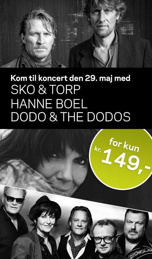 Sidste chance, hvis du vil med til koncert den 29. maj med Dodo & the Dodos
