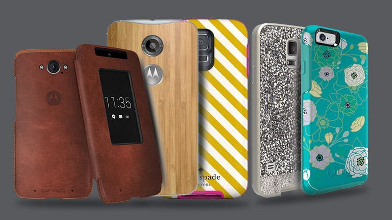 Fashionable smartphone covers
