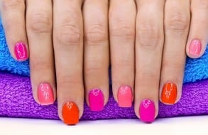 Sikke flotte negle min datter kunne lave