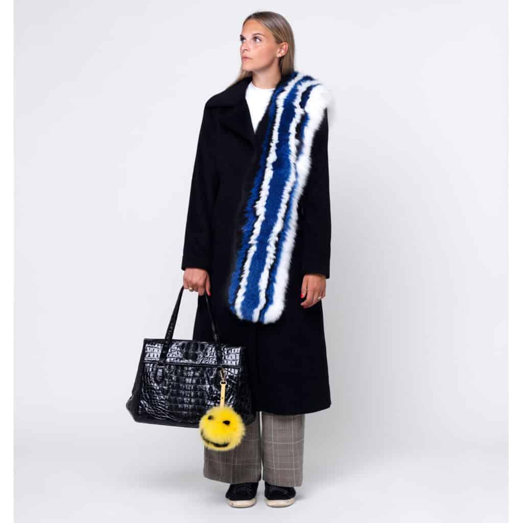 Gør din taske vintersmart med pelspomponer