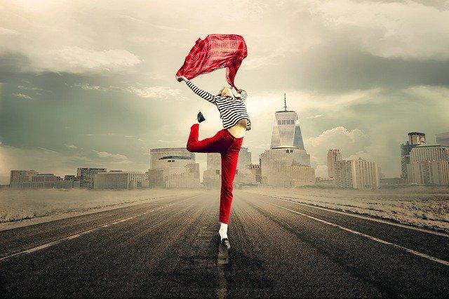 Gør det som gør dig glad – det viser sig både udvendigt og indvendigt